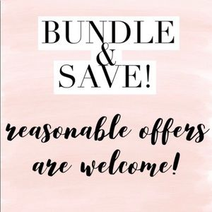 Other - Create bundles to save money